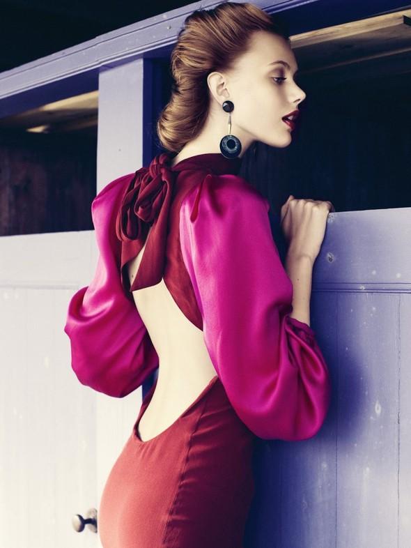 Съёмка: Фрида Густавссон для Elle. Изображение № 10.
