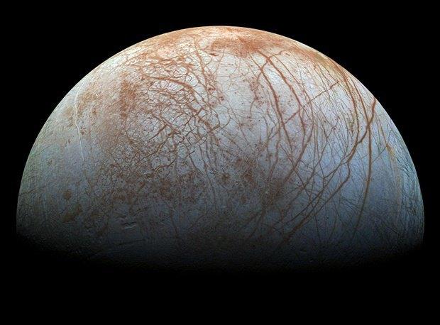 Европа, спутник Юпитера. Изображение № 6.