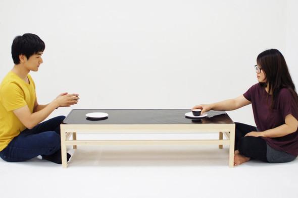 Стол с «жидкой» поверхностью. Изображение № 5.