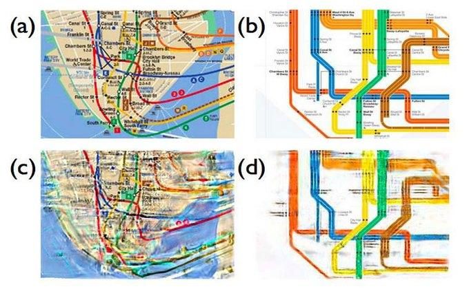 Учёные показали, как люди на самом деле видят карту метро. Изображение № 5.