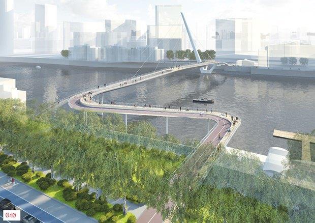Выложены 74 проекта нового моста через Темзу. Изображение № 35.