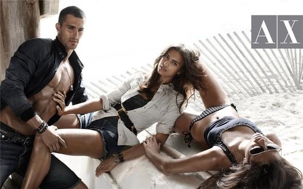 Рекламная кампания Armani Exchange весна-лето 2010. Изображение № 5.