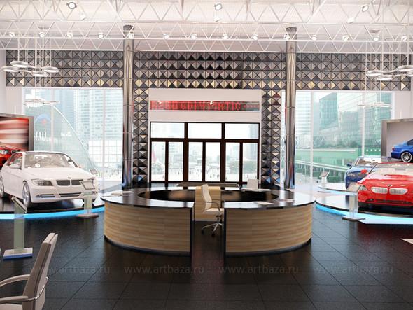 Дизайн автосалона BMW. Изображение № 2.