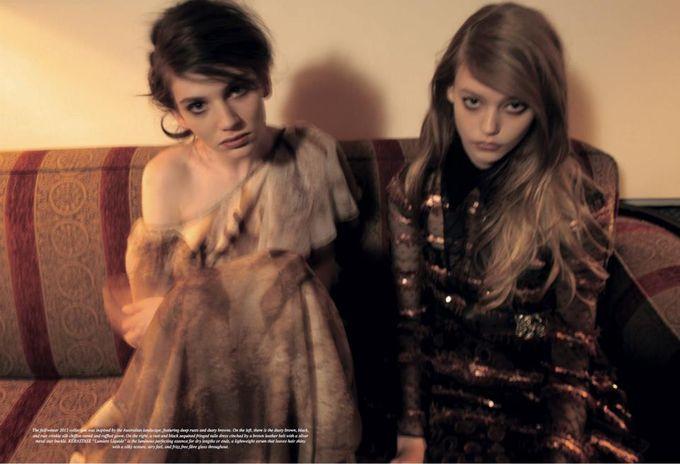 Dazed & Confused, Fat, Vogue и другие журналы выпустили новые съемки. Изображение № 26.