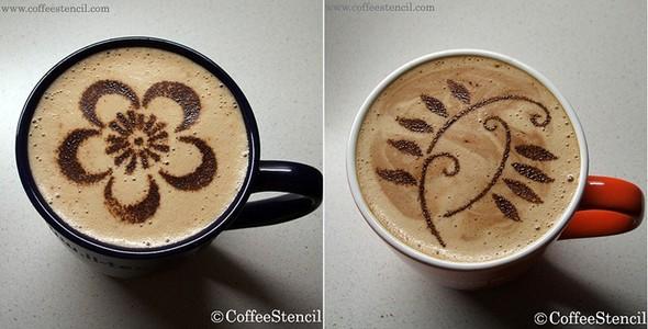 Coffeestencil. Изображение № 8.