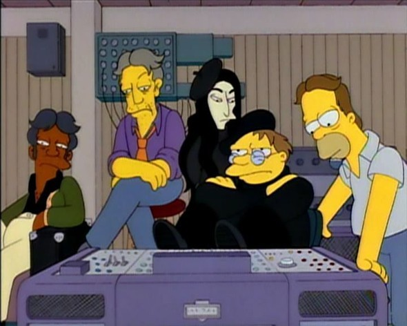 Bands to watch in Simpsons. Изображение № 3.