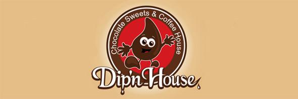 День шоколада. Вкусные шоколадные логотипы. Изображение № 17.