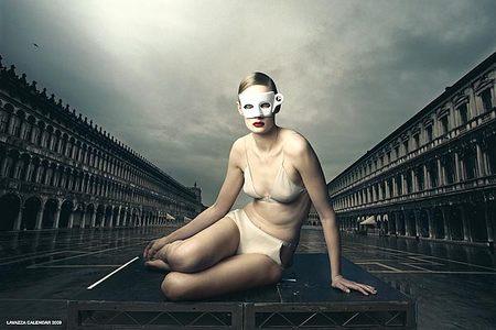 Календарь Lavazza 2009, фотограф Annie Leibovitz. Изображение № 2.
