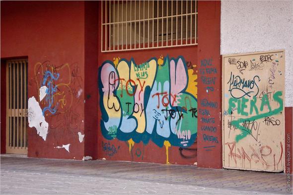 Стрит-арт и граффити Валенсии, Испания. Изображение № 66.