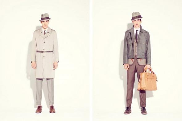 Новые мужские лукбуки Louis Vuitton, Marc Jacobs и Fred Perry. Изображение № 28.
