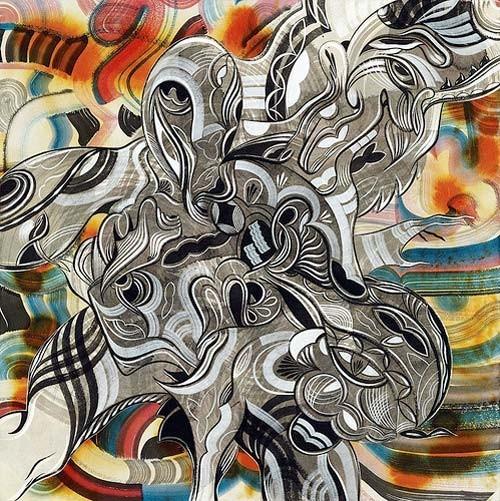 Точка, точка, запятая: 10 современных абстракционистов. Изображение № 60.