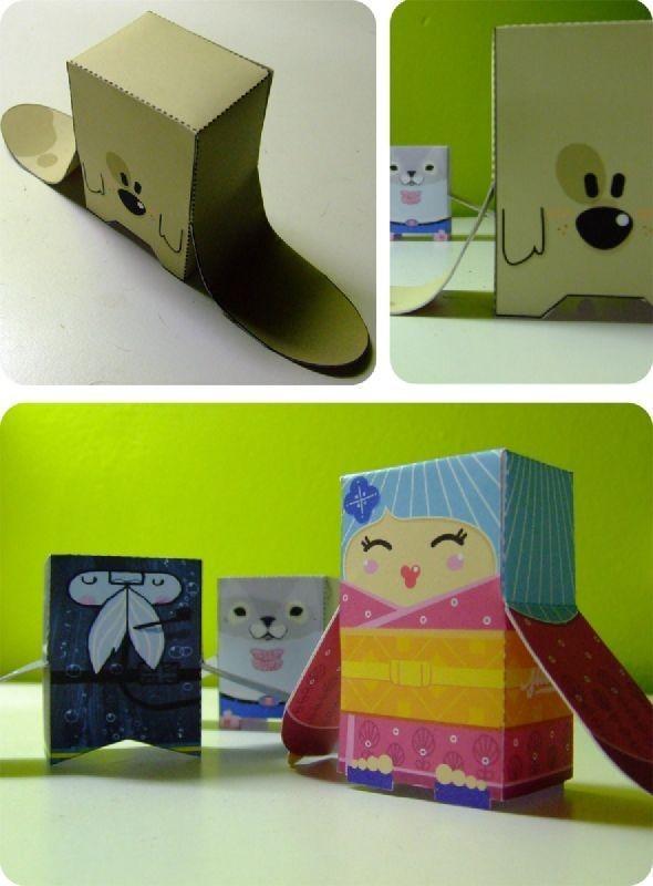 Paper Toys. Изображение № 1.