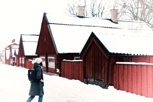 Классический красный дом на пути из Wreta в Эскильстуну. Изображение № 63.