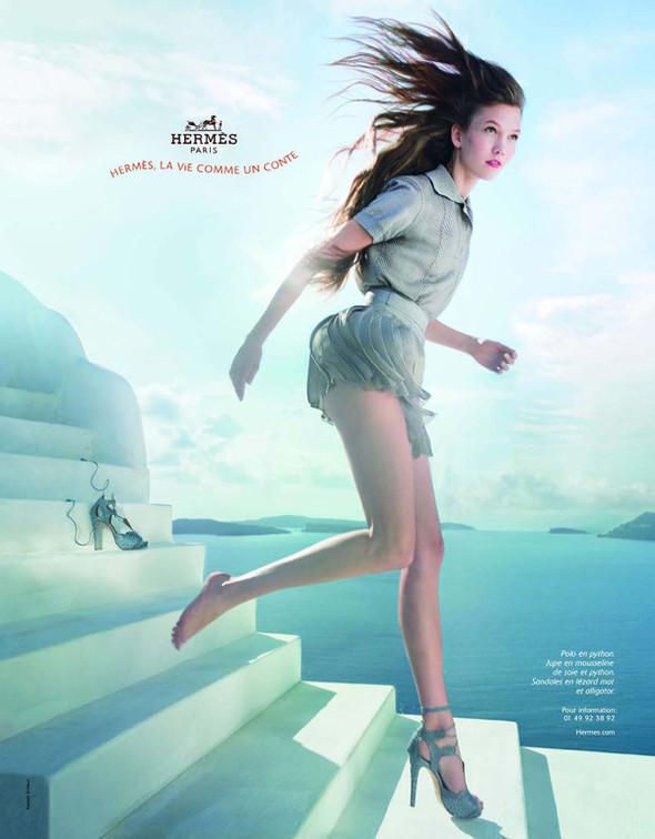Новые рекламные кампании: Fendi, Mango, McQueen, Hermes. Изображение № 2.