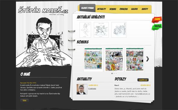 Ручная работа. Дизайн сайтов с рисованными элементами. Изображение № 16.
