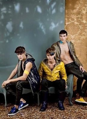 Новости ЦУМа: Рекламная кампания летних курток Duvetica. Изображение № 1.