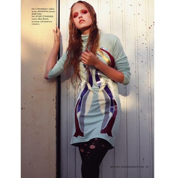 Новые съемки: Numero, Playing Fashion, Tangent и Vogue. Изображение № 12.