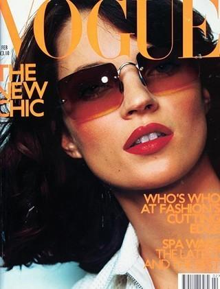 Кейт Мосс на обложках vogue. Изображение № 3.