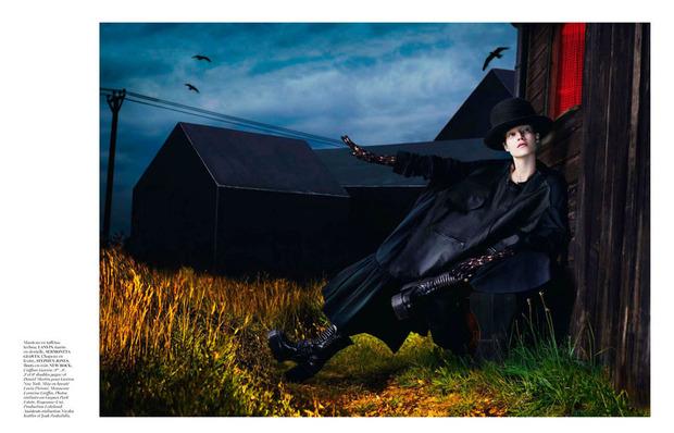 Новые съемки Dazed & Confused, Vogue, i-D и W Magazine. Изображение № 20.