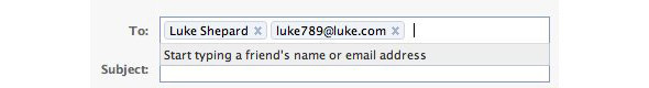 Facebook создаёт свою почту. Изображение № 3.