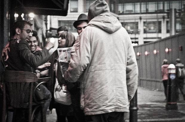 Бездомная жизнь в фотографиях Jay Raff. Изображение № 8.
