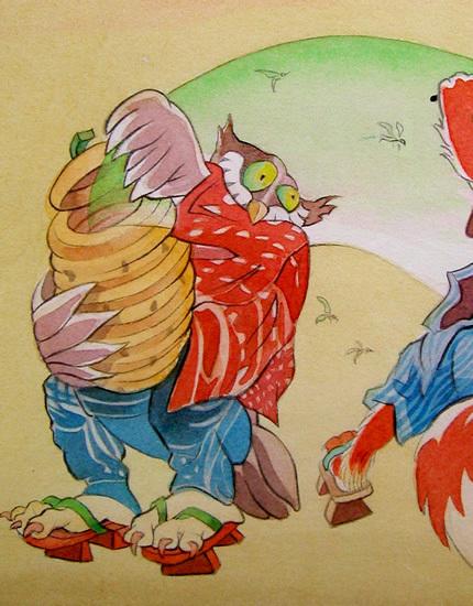 Звериная Япония Мойры Хан. Изображение № 12.