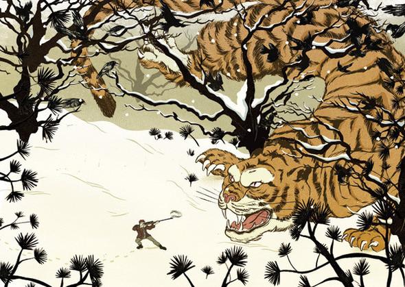 Рисунки американского иллюстратора Марко Шина.. Изображение № 33.