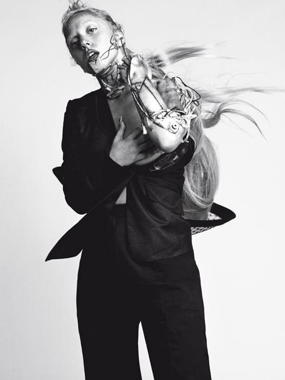 Съёмка: Леди Гага для Vogue. Изображение № 4.