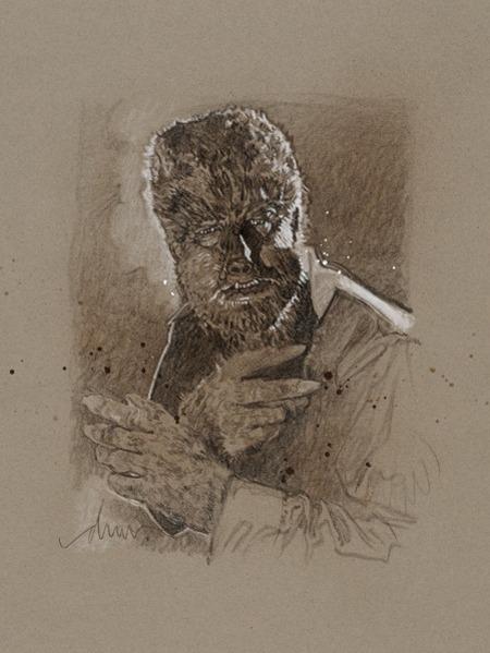 Дрю Стрюзан — Человек-волк. Изображение № 2.