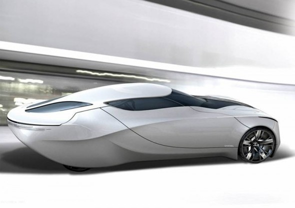 Chanel Fiole – Concept Car Design. Изображение № 5.