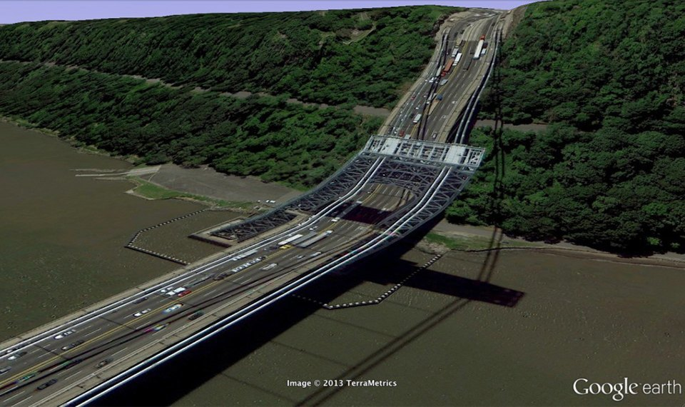 32 фотографии из Google Earth, противоречащие здравому смыслу. Изображение № 27.