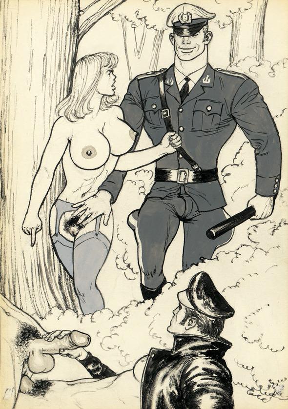 «Грязные рисунки» TomofFinland. Изображение № 2.