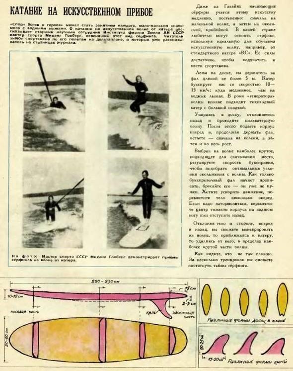 Советская школа серфинга. Изображение № 7.