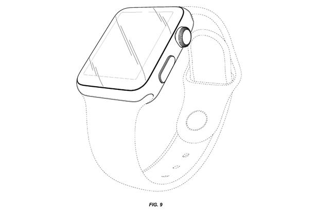 Apple запатентовала внешний вид Watch. Изображение № 7.