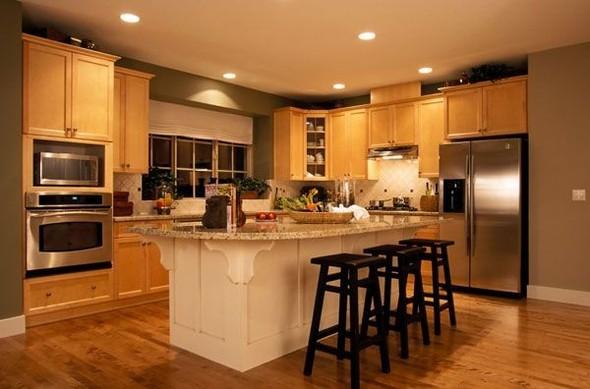Сочетание цвета в интерьере кухни. Изображение № 1.