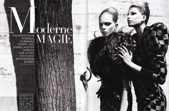 Moderne Magie Vogue German, November 2009. Изображение № 1.