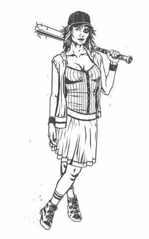 Девушки с оружием от Frank Barbara. Изображение № 7.