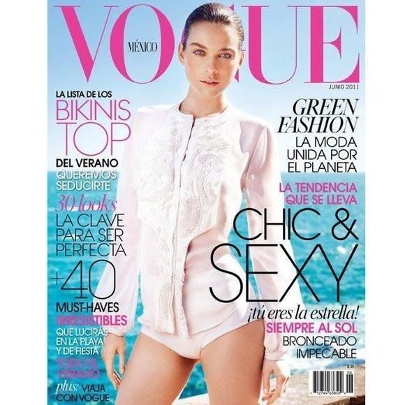 Изображение 1. Обложки Vogue: Британия, Франция и другие.. Изображение № 3.