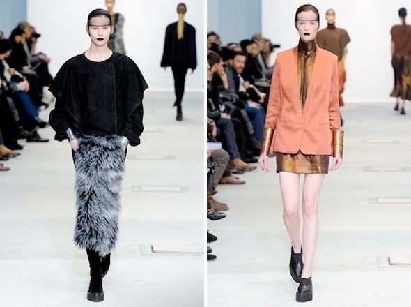 Изображение 7. Показы на Paris Fashion Week FW 2011: день 2.. Изображение № 4.