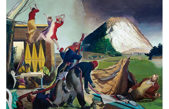 Neo Rauch, Die Fuge, 2007. Изображение № 18.