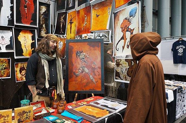 Как прошёл гик-фестиваль NYC Comic-Con  в Нью-Йорке. Изображение № 13.