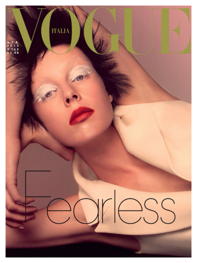 Показаны новые обложки i-D, Numéro и Vogue. Изображение № 3.
