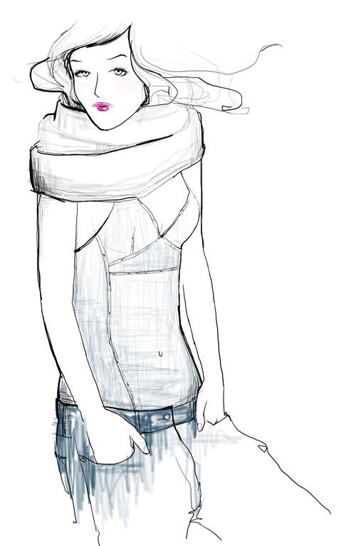 Зарисовки, вкоторых воплощена настоящая женственность. Изображение № 15.