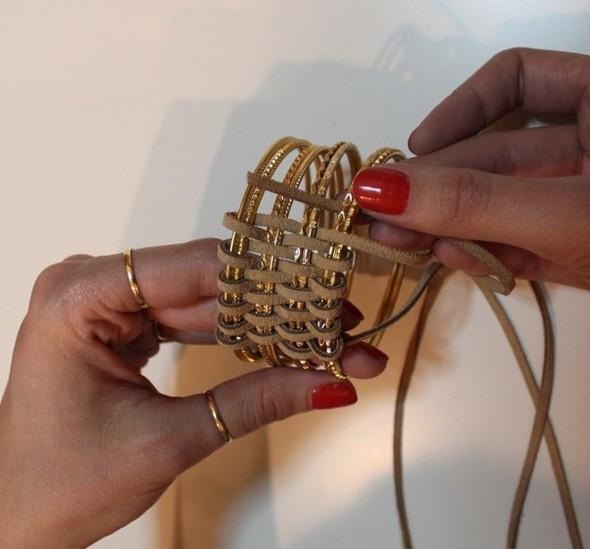 Плетёный браслет. Изображение № 3.