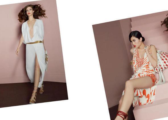 Изображение 26. Рекламные кампании: Diane von Furstenberg, Karl Lagerfeld, McQ и другие.. Изображение № 13.