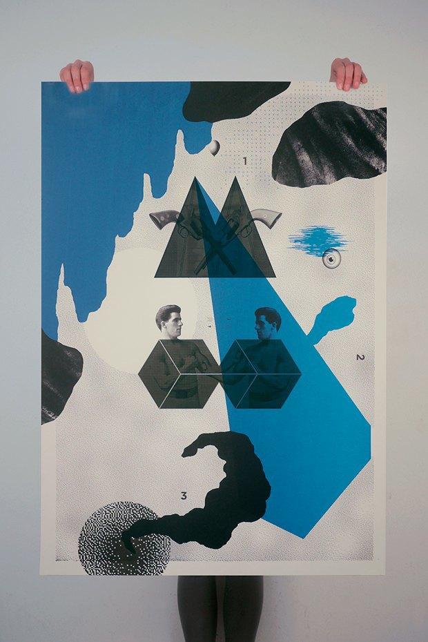 50 постеров, которые вдохновляют заняться шелкографией. Изображение № 23.