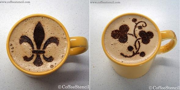 Coffeestencil. Изображение № 9.