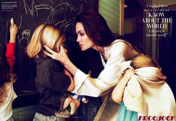 Съёмка: Анджелина Джоли для Vanity Fair. Изображение № 2.