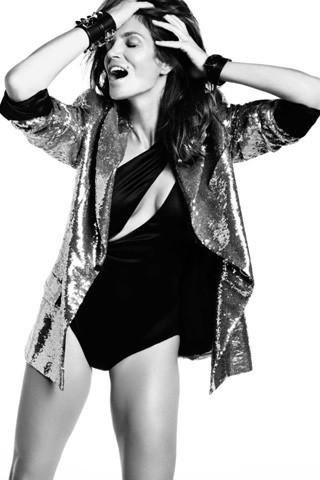 Cindy Crawford, Vogue Spain July 2009. Изображение № 7.