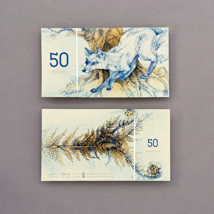Концепт дня: банкноты несуществующих венгерских евро. Изображение № 7.